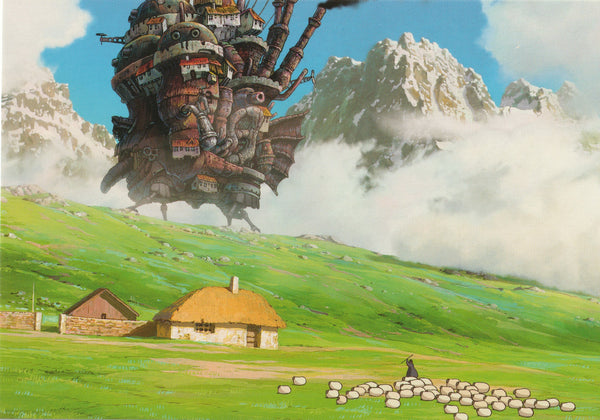 Studio Ghibli - Howl's Moving Castle Postcard (1/7)