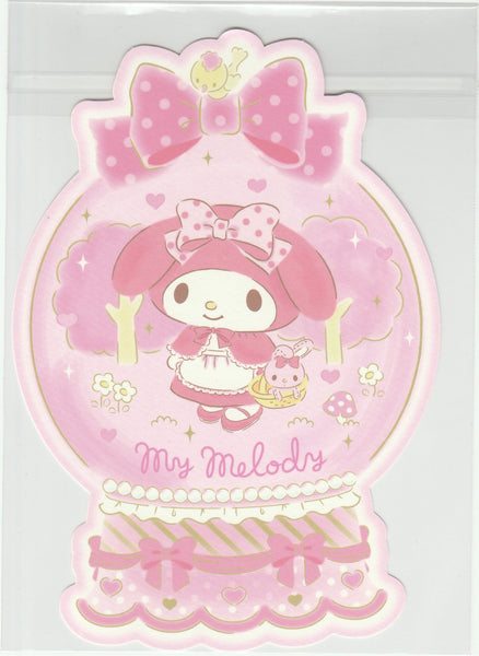Japan Sanrio - My Melody Winter Little Red Riding Hood Postcard