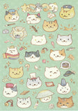 Neko Atsume Kitty Collector Postcard YT04