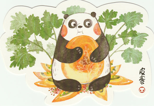 Panda Illustrated Postcard Collection - CP04