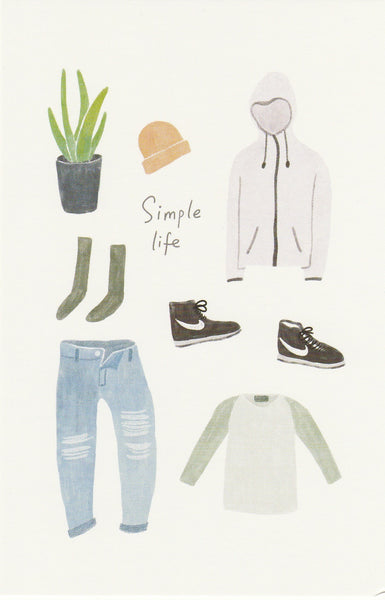 Travel Series #OOTD Postcard - SL05