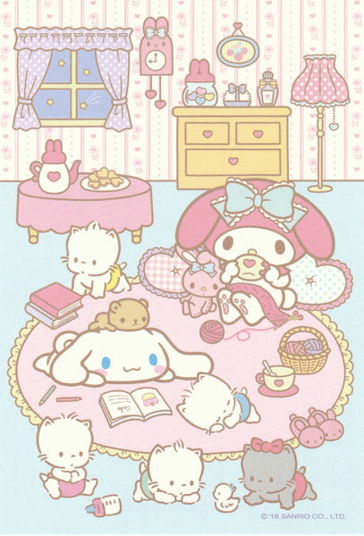 Japan Sanrio - Cinnamoroll & My Melody Postcard