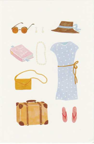 Travel Series #OOTD Postcard - SL11
