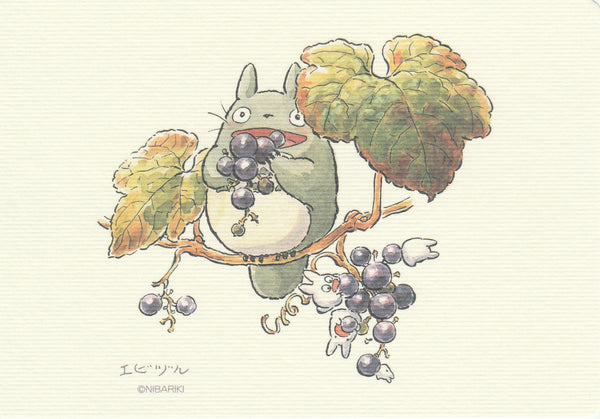 Studio Ghibli - My Neighbour Totoro Postcard (MNT03)