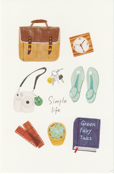 Travel Series #OOTD Postcard - SL18
