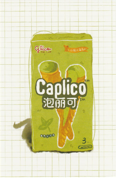Matcha Green Tea Postcard - CL21 (Caplico Biscuit)