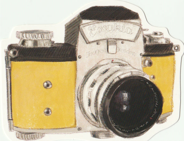 Vintage Retro Collection - Exakta Camera Postcard