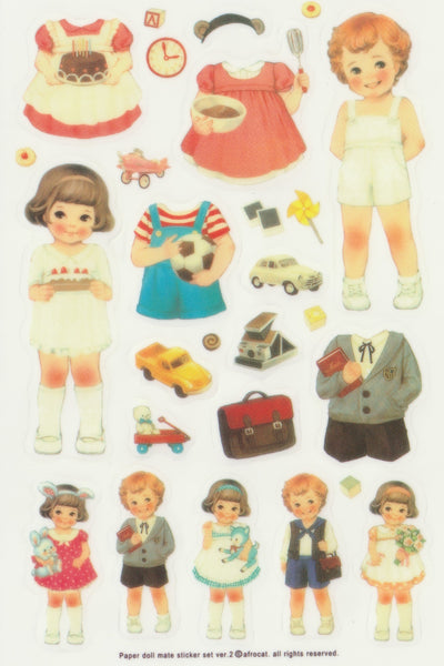 [FREE with US$10 purchase!] The Paper Doll Mate A