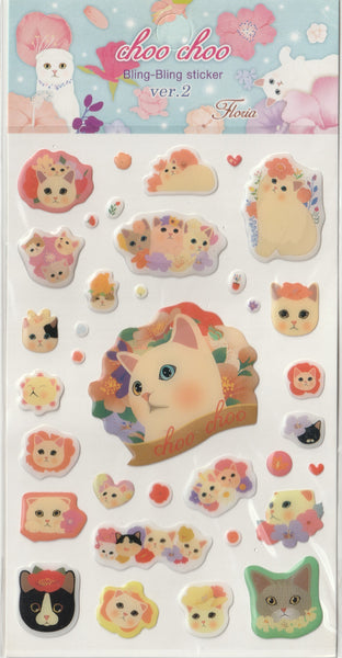 Jetoy Puffy Sticker Sheet B