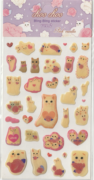 Jetoy Puffy Sticker Sheet D