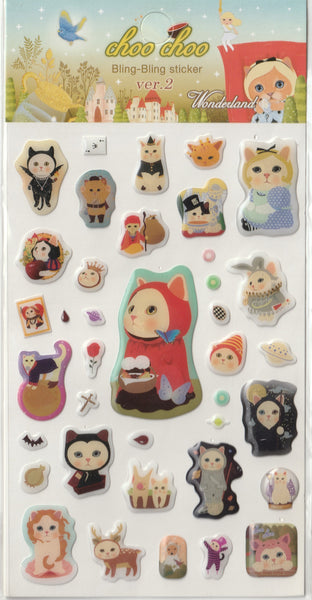 Jetoy Puffy Sticker Sheet A