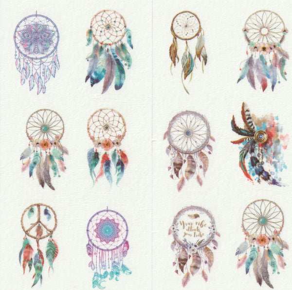 [FREE with US$10 purchase!] Dreamcatcher Sticker Set A
