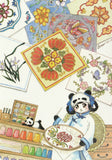 Ever & Ein Postcard - Traditional Series - Chinese Embroidery