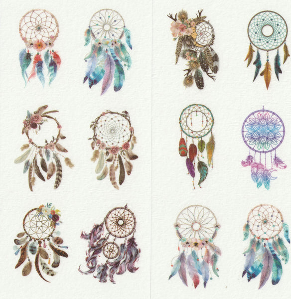 [FREE with US$10 purchase!] Dreamcatcher Sticker Set C