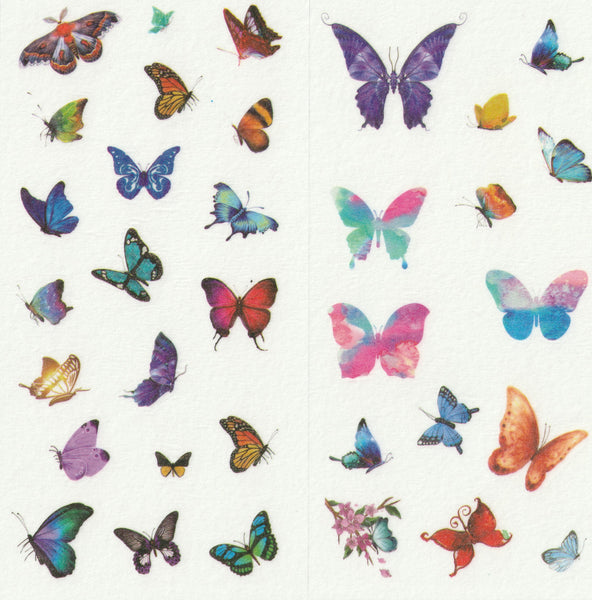 [FREE with US$10 purchase!] Butterfly Sticker Set A