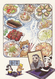 Ever & Ein Postcard - Food Series - Chinese Food B