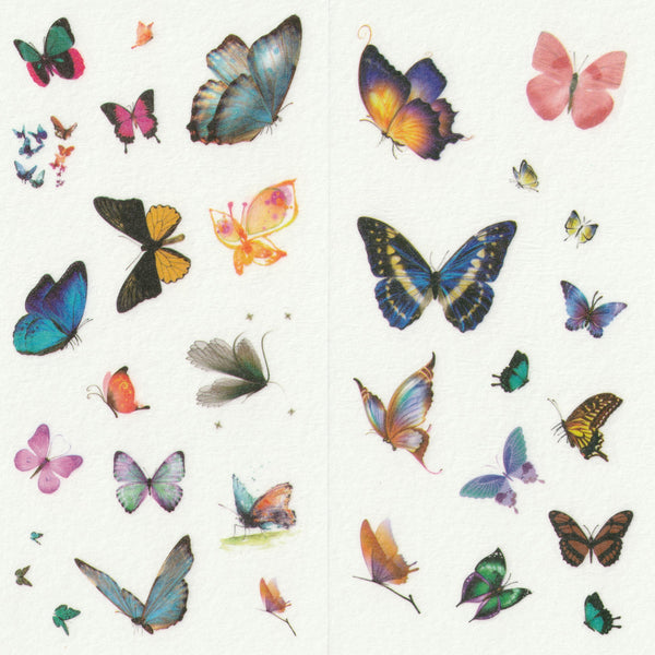 [FREE with US$10 purchase!] Butterfly Sticker Set B