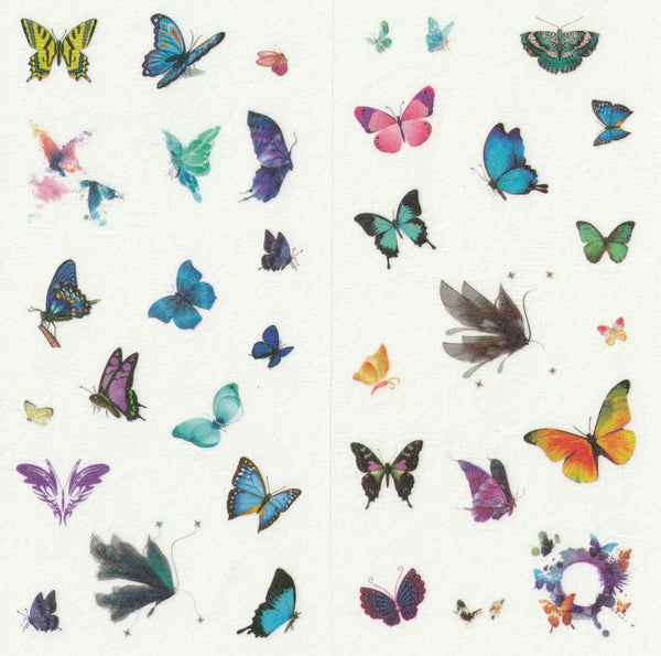 [FREE with US$10 purchase!] Butterfly Sticker Set C