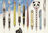 Ever & Ein Postcard - Stationery Pen Collection
