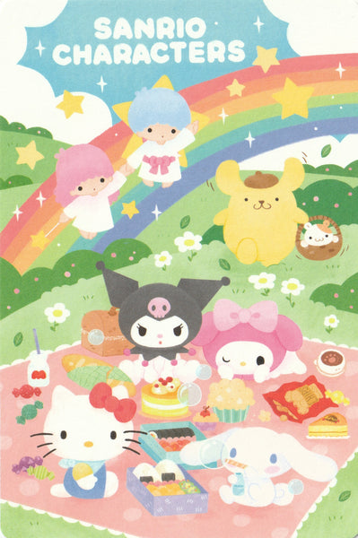 Sanrio Characters - Hello Kitty, My Melody, Cinamoroll, Little Twin Stars, Pom Pom Purin Postcard