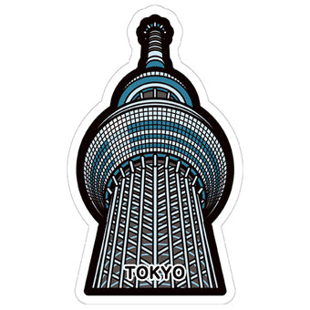 Japan Gotochi (Tokyo) Postcard - Limited Edition - Tokyo Skytree Tower