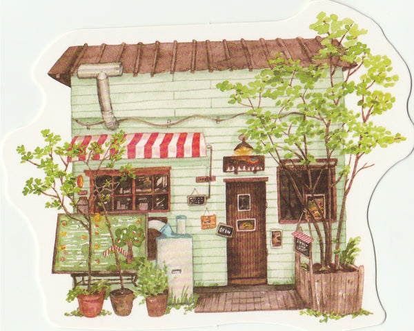 Little Shop Collection III - Garden Cafe
