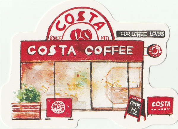 Little Shop Collection II - Costa Coffee