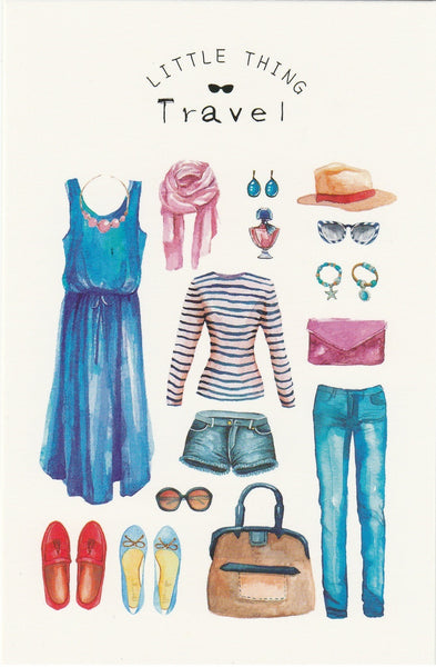 Little Thing Postcard Collection - Travel Essentials