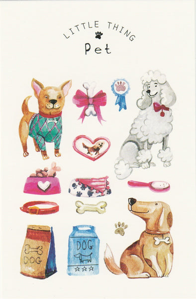Little Thing Postcard Collection - Pet Dogs