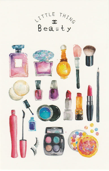 Little Thing Postcard Collection - Beauty & Makeup