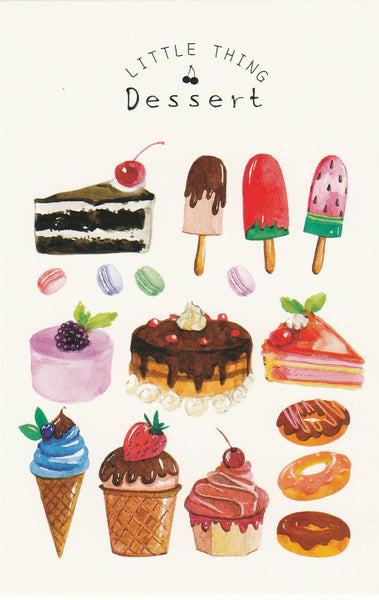 Little Thing Postcard Collection - Desserts & Ice-cream
