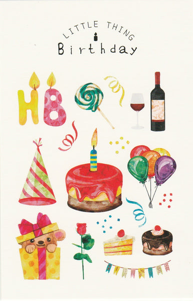 Little Thing Postcard Collection - Happy Birthday