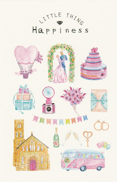 Little Thing Postcard Collection - Wedding Celebrations Happiness