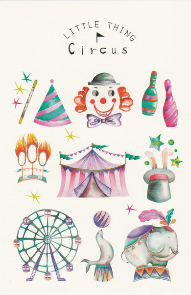 Little Thing Postcard Collection - Circus Carnival