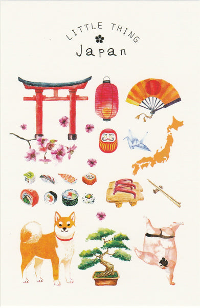 Little Thing Postcard Collection - Japan Inspired