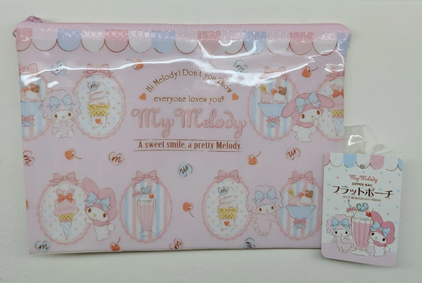 [FREE with USD30 purchase!] Sanrio My Melody Ice Cream Parlour Pouch