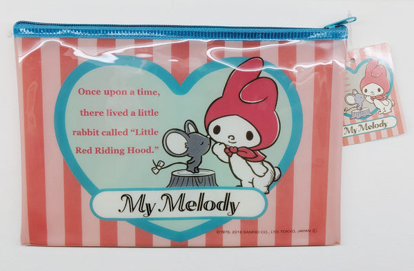 [FREE with USD30 purchase!] Sanrio My Melody Little Red Riding Hood Pouch