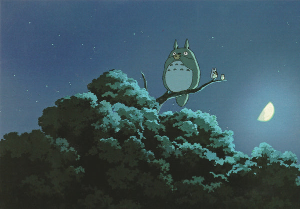 Studio Ghibli - My Neighbor Totoro Postcard (2/7)