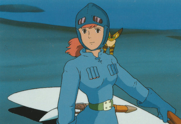Studio Ghibli - Nausicaä of the Valley of the Wind Postcard (3/4)
