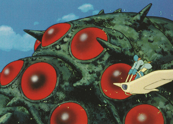Studio Ghibli - Nausicaä of the Valley of the Wind Postcard (4/4)