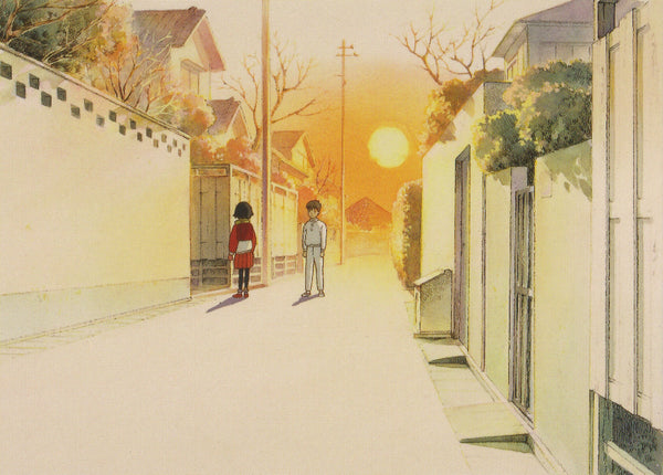 Studio Ghibli - Only Yesterday Postcard (1/4)
