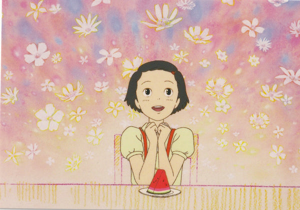 Studio Ghibli - Only Yesterday Postcard (2/4)