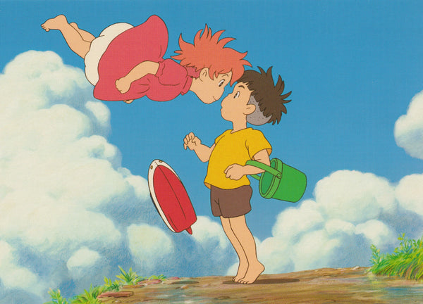 Studio Ghibli - Ponyo on the Cliff Postcard (5/6)