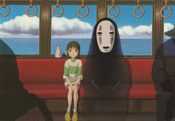 Studio Ghibli - Spirited Away Postcard (1/7)