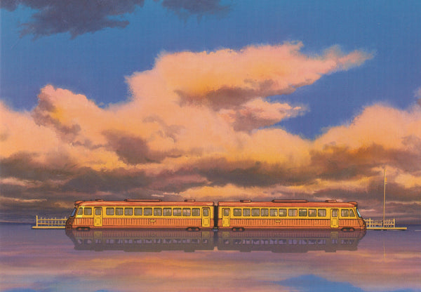 Studio Ghibli - Spirited Away Postcard (2/7)