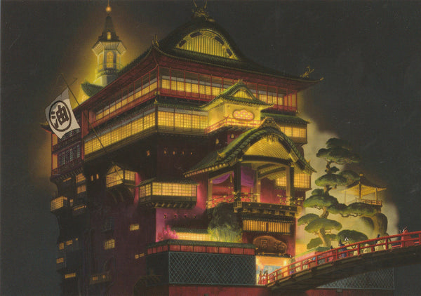 Studio Ghibli - Spirited Away Postcard (5/7)