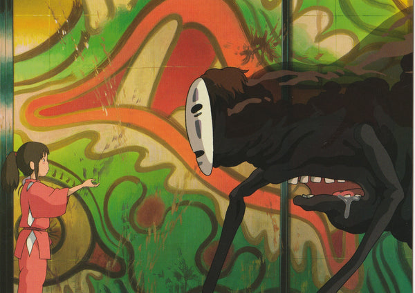 Studio Ghibli - Spirited Away Postcard (7/7)