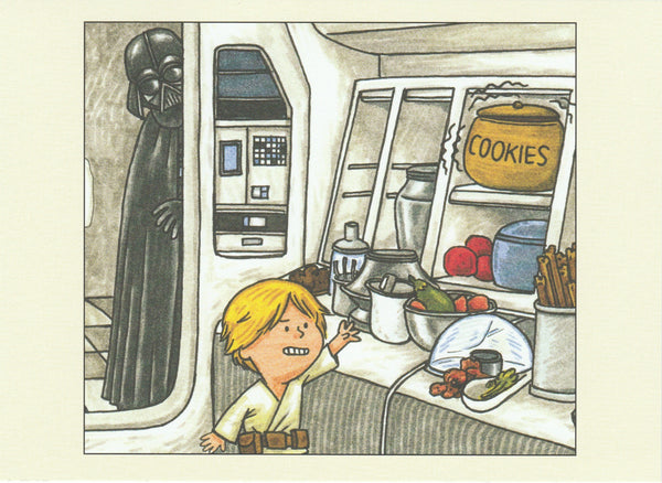 Star Wars Postcard (DV11)