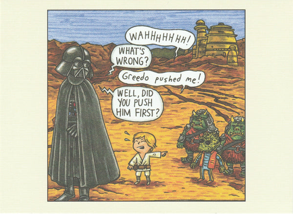 Star Wars Postcard (DV13)