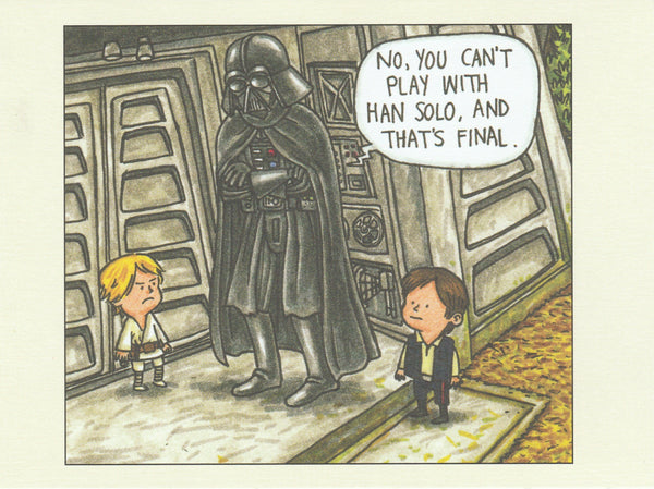 Star Wars Postcard (DV16)